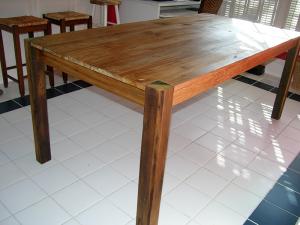 Modern Rustic Farm Table